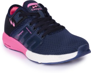 bf4839770 Campus BATTLE Running Shoes For Women Navy Pink Best Price in India ...