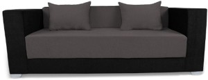 Adorn India Almond Double Solid Wood Sofa Bed