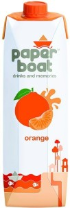 Paper Boat Juice - Orange 1 L