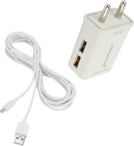 DEEPSHEILA 3.4A. FAST CHARGER & V8 CABLE FOR MICROMAX Q 426 Mobile Charger