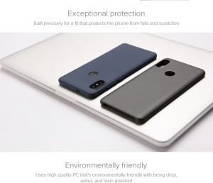 c216d08ef Xiaomi Back Cover for Mi Redmi Note 5 Pro Blue Shock Proof Plastic ...