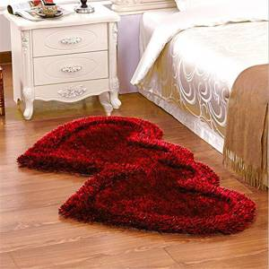 Style Your Home Maroon Polyester Runner