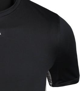 e547d65dec4 Kipsta by Decathlon Solid Men Round Neck Black T Shirt Best Price in India