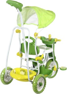 NHR Kids VEGA Musical tricycle with Canopy- GREEN TricycleGreen  sc 1 st  Buyhatke & NHR Kids VEGA Musical tricycle with Canopy GREEN Tricycle Green Best ...