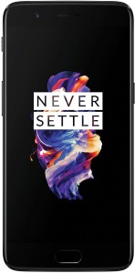 One Plus 5 (Black, 128 GB)