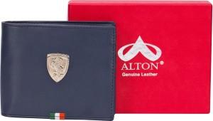 alton Boys Black Artificial Leather Wallet
