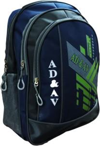 AD & AV 104_BLUE Waterproof School Bag