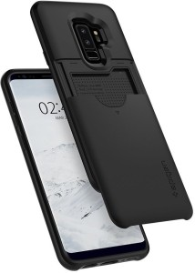 online store f4000 61a39 Spigen Back Cover for Samsung Galaxy S9 Plus / Galaxy S9+Black, Plastic