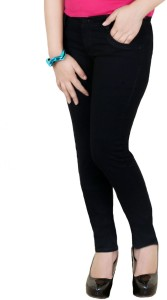 K-72 Slim Women's Black Jeans