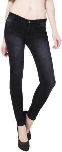 FCK-3 Slim Women's Black Jeans