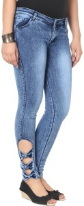 Knight Vogue Slim Women's Light Blue Jeans