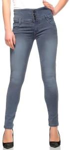Fasnoya Skinny Women's Grey Jeans