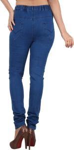 Danbro Slim Women's Blue Jeans
