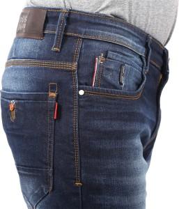 e11c3bc9985 Nostrum Jeans Slim Men s Dark Blue Jeans Best Price in India ...