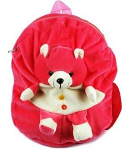 Vpra Mart Pink Bear Soft Toys School Bag