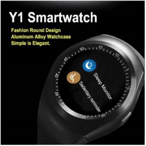 Easypro ™ Y1 Bluetooth Smartwatch With Sim & Tf Card Support With Apps Like  Facebook And Whatsapp Touch Screen Multilanguage Android/Ios Mobile Phone