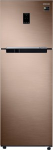 Samsung 345 L Frost Free Double Door Top Mount 3 Star Refrigerator