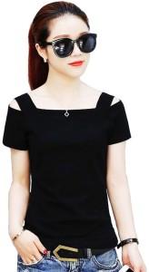 hitler germany Party Shoulder Strap Stylised Women's Black Top