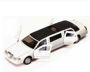 Kinsmart 7 1 38 Scale 1999 Lincoln Town Car Stretch Limousine Die