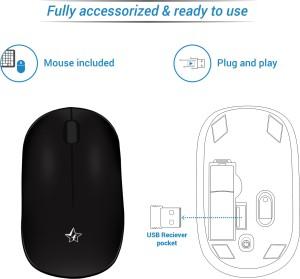 2b67283870e Flipkart SmartBuy KM 206W Wireless Laptop Keyboard Black Best Price ...