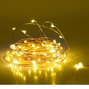MANSAA 396 inch Yellow, Gold Rice Lights