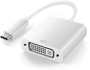Microware USB 3.1 Type-C to DVI-I (Dual Link) Adapter Cable - Silver USB C Type Cable
