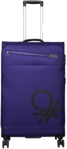United Colors of Benetton Soft Luggage Strolly Expandable  Check-in Luggage - 27 inch