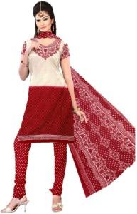 Sastvik Crepe Printed Salwar Suit Dupatta Material Un stitched