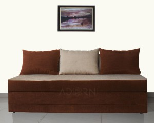 Adorn India New easy Double Solid Wood Sofa Bed