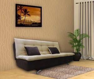 Adorn India Aspen Double Solid Wood Sofa Bed