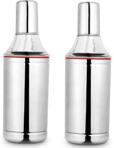 Shrih Oil Porer Set of 2  - 1000 ml Steel Oil Container