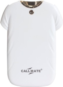 Callmate 4000 Power Bank (T-shirt, with Flashlight white)