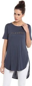 Vero Moda Casual Half Sleeve Solid Women Dark Blue Top
