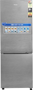 Haier 258 L Frost Free Double Door Bottom Mount 3 Star Refrigerator