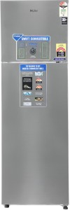 Haier 276 L Frost Free Double Door Top Mount 3 Star Refrigerator
