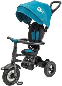 The QPlay Rito Dark Blue Tricycle