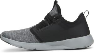 Reebok PLUS LITE 2 0 HTHR Running Shoes For Men Black Grey Best ... 8e9c3bcfc