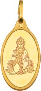 Kundan Hanuman 24 (9999) Yellow Gold Pendant