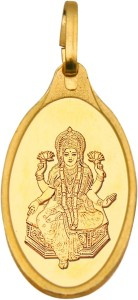 Kundan Lakshmi 24 (9999) Yellow Gold Pendant