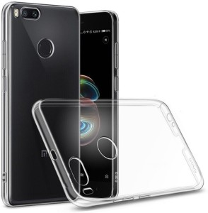 lowest price 6afb0 100a8 Fashionury Back Cover for Mi A1Transparent, Waterproof, Flexible Case