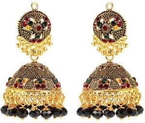 GoldNera Brass Jhumki Earring