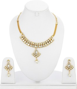 f351dbb8e Zeneme Alloy Jewel Set Gold Best Price in India