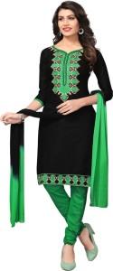 Saara Cotton Embroidered Salwar Suit Dupatta Material Un stitched