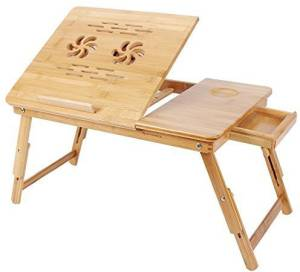 PAffy Bamboo Portable Laptop Table