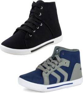 World Wear Footwear Multicolor Combo-(2)-114-303 Sneakers For Men