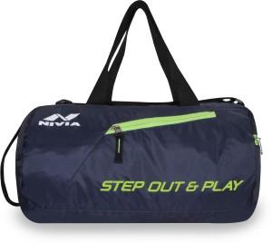 Nivia Deflate Round - 01 gym bag