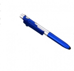 Rangoli 4 In 1 Folding Pen With Stylus, Writing Lamp And Mobile Stand Ball Pen Stylus