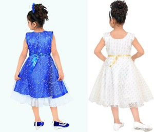 265df4e1041 FTC FASHIONS Girls Midi/Knee Length Party DressMulticolor, Sleeveless