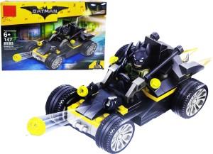Emob 147 Pcs Super Action Hero Buggy Car Model Building Block Set Toys With 1 Mini Figure