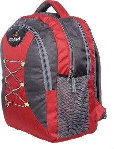 Good Friends 6 To 10 Class Strong Backpack Waterproof School Bag Red ... 496384f1bb1f3